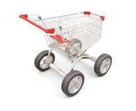 Trolley with wheels Stock Photos
