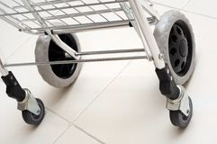 Trolley Wheels Stock Image