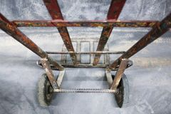 Trolley 2 wheels stock photography