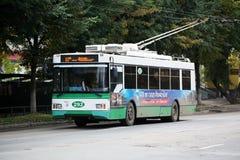 Trolleybus βέλτιστων Trolza στοκ εικόνες