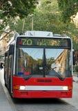 Trolleybus Royalty-vrije Stock Afbeeldingen