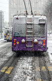 Trolleybus Photographie stock libre de droits
