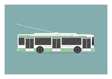 trolleybus Obraz Royalty Free