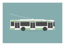 trolleybus Image libre de droits