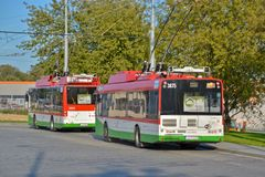 trolleybus royalty-vrije stock fotografie