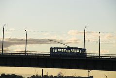 Trolleybus Stock Photo