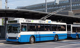 Trolleybus in Lucerne Royalty Free Stock Photos
