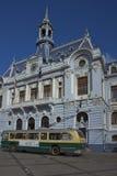 Trolleybuses Valparaiso Στοκ εικόνες με δικαίωμα ελεύθερης χρήσης