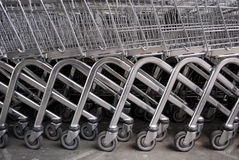 Trolleys Stock Image