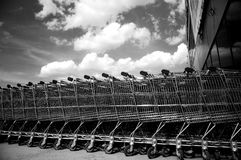 trolleys Royaltyfri Fotografi