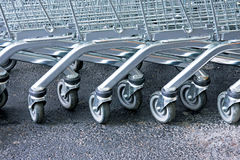 Trolleys Royalty Free Stock Photography