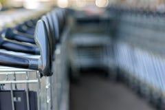 Trolleys Stock Photo