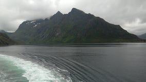 Trollfjord fotografia royalty free
