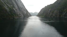Trollfjord (Norwegia) obraz royalty free