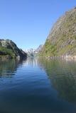 Trollfjord's Summer Cross Stock Photography