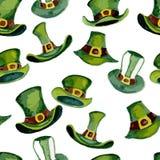 Trollhattmodell royaltyfri illustrationer