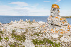 Trollholmsundet on the north-east cost of Finnmark Norway. Pilar Stock Photos