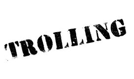 Trolling rubber stamp Royalty Free Stock Photo