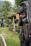 trolls ξύλινα Στοκ Φωτογραφίες