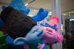 Trolls display inside the Macy's store in Manhattan Stock Photo