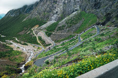 Trolls path Norway Royalty Free Stock Photo
