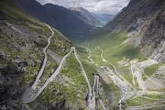 Trolls Path (Trollstigen) Royalty Free Stock Photo