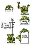 Trollsigns del Gg ilustración del vector
