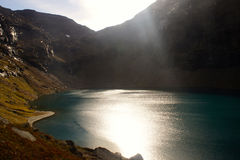Trollsjön lake Royalty Free Stock Photo
