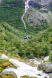 Trollstigen路 图库摄影