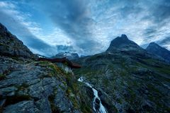 Trollstigen Норвегия Стоковое фото RF
