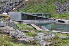 Trollstigen, Норвегия Стоковая Фотография