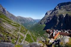 Trollstigen 图库摄影