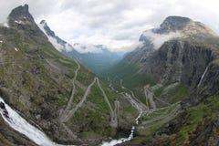 Trollstigen Foto de archivo