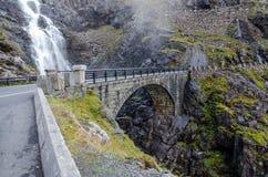 Trollstigen Stockbilder