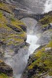 Trollstigen em Noruega Foto de Stock