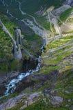 Trollstigen en Noruega Fotografía de archivo