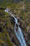 Trollstigen en Noruega Fotos de archivo libres de regalías