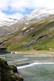 Trollstigen högst punkt Fotografering för Bildbyråer