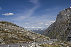 On  Trollstigen Royalty Free Stock Image