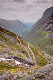 Trollstigen mountain road in Norway Royalty Free Stock Photography