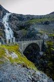 Trollstigen - mountain road in Norway Stock Photography