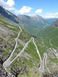 Trollstigen Stock Photos