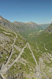 Trollstigen Stock Photo