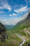 Trollstigen. Norge Arkivfoton