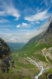 Trollstigen. Noruega Fotos de archivo