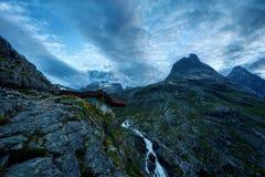 Trollstigen Norvège photo libre de droits
