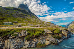 Trollstigen in Norway Royalty Free Stock Photography