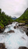 Trollstigen river Royalty Free Stock Photography