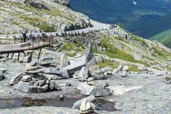 Trollstigen road Stock Photography