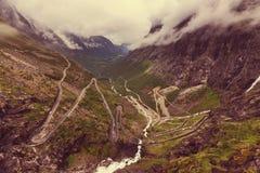 Trollstigen Stock Photos